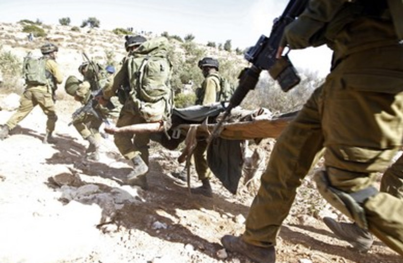IDF soldiers in West Bank 390 (photo credit: REUTERS)