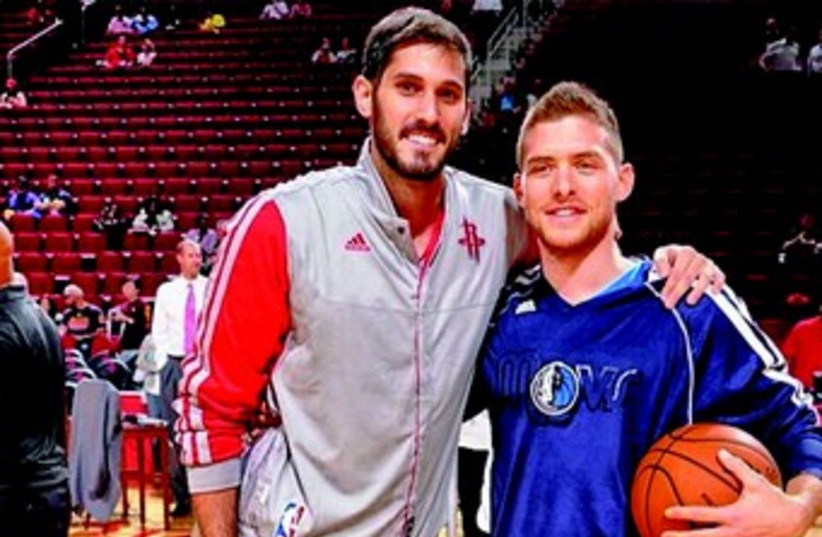 Casspi, Mekel NBA 370 (photo credit: Courtesy )