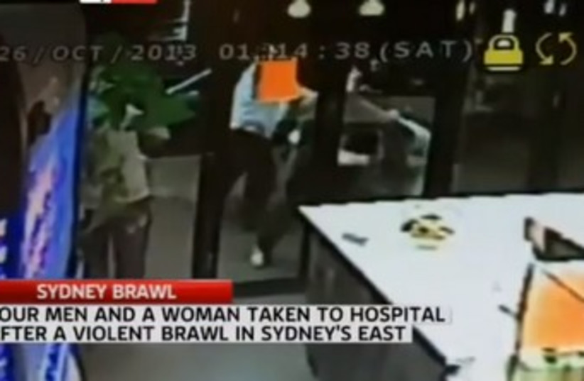 Australia anti-Semitic attack 370 (photo credit: Screenshot Sky News)
