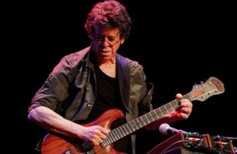 Lou Reed 370 (photo credit: REUTERS)