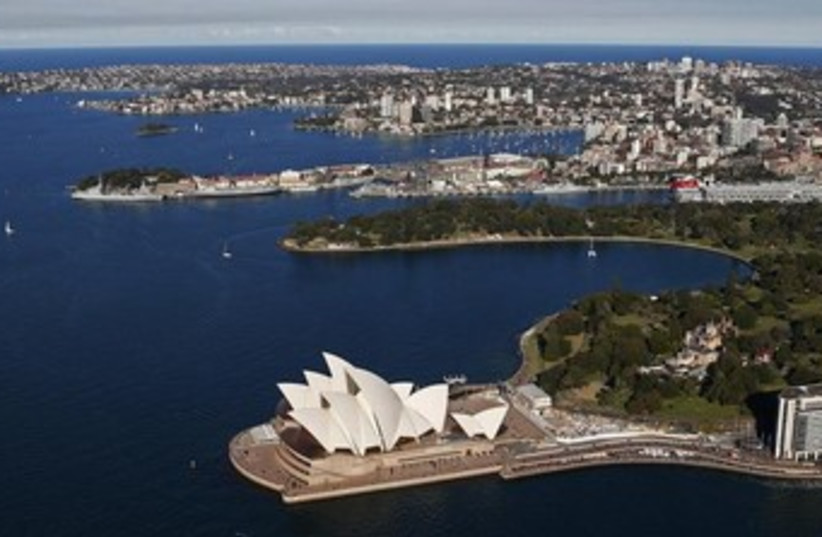 Sydney, Australia Opera House view 370 (photo credit: REUTERS)