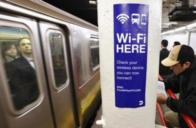 wifi 370 (photo credit: REUTERS)