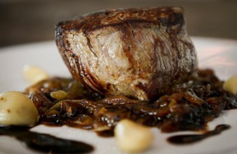 Beef fillet at Seatara (photo credit: Courtesy)