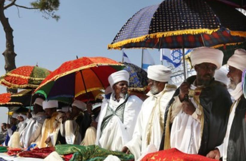 Ethiopian ethiopia sigd holiday 390 (photo credit: Marc Israel Sellem)