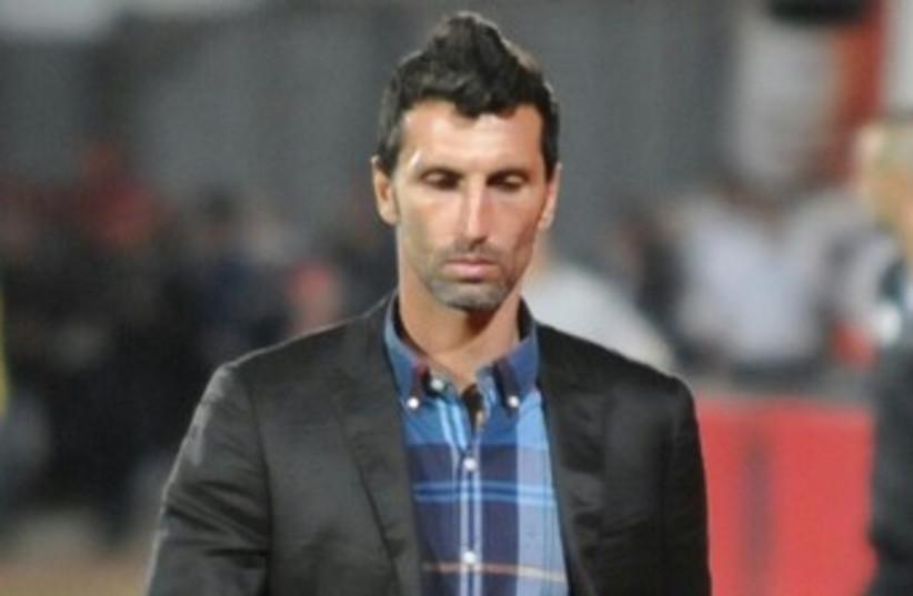 Mac Haifa coach Arik Benado 370 (photo credit: Uzi Gal)