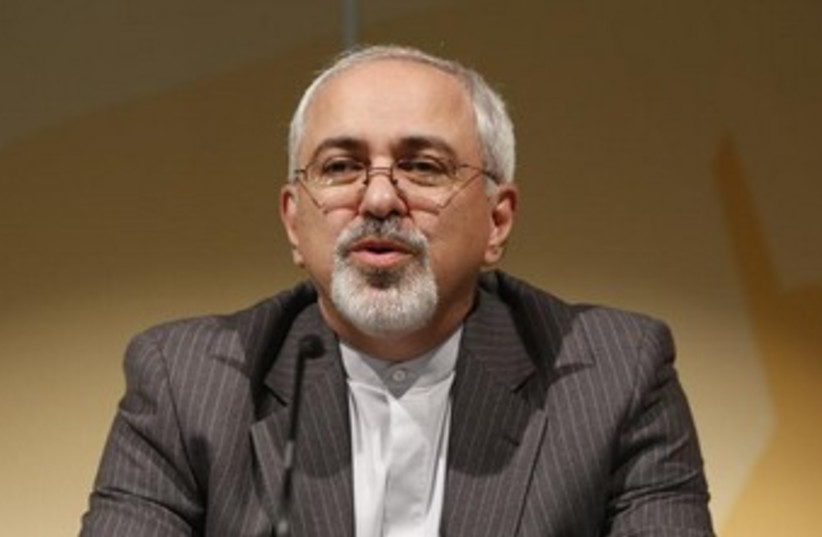 Iranian Foreign Minister Mohammad Javad Zarif 370 (photo credit: REUTERS/Ruben Sprich)