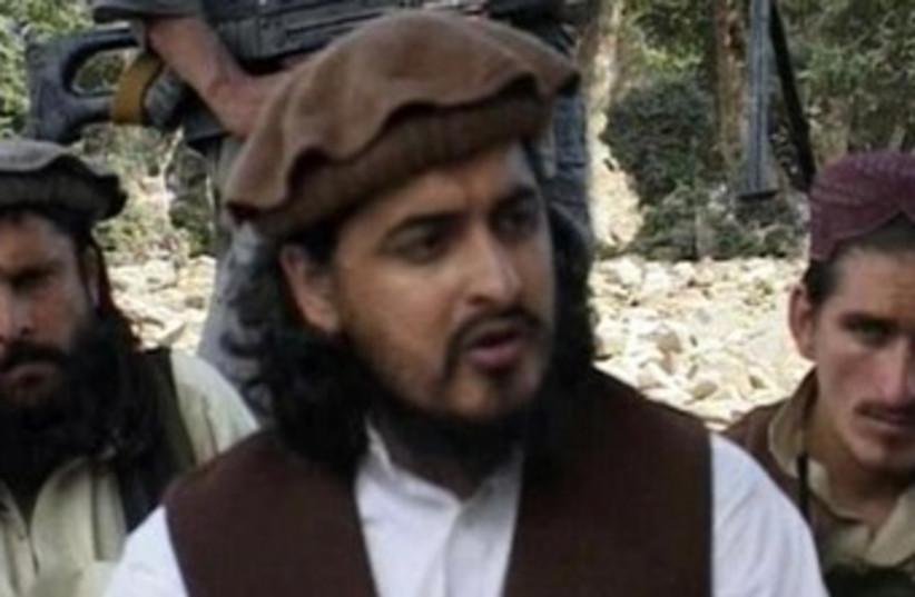 Pakistani Taliban leader Hakimullah Mehsud 370 (photo credit: REUTERS)