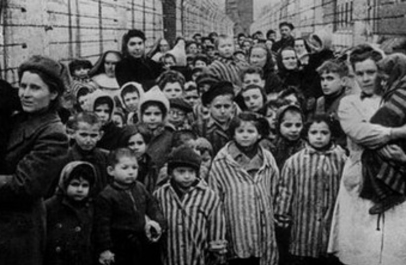 Child survivors Auschwitz holocaust (photo credit: Reuters)