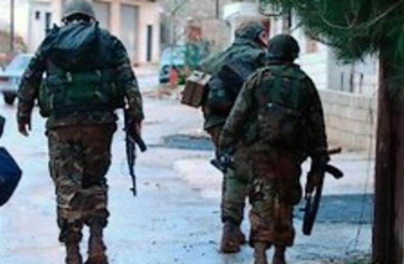 Hizbullah  gunmen 224.88 (photo credit: AP)