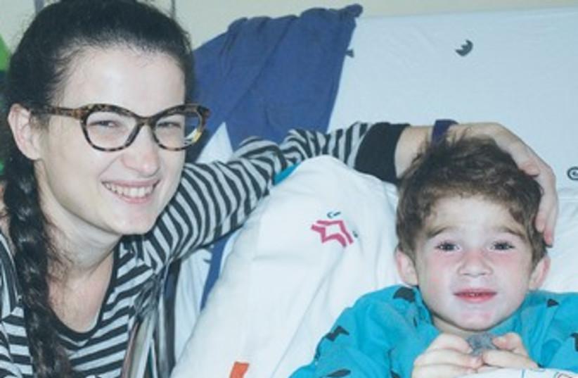 Child who received kidney transplant from mom 370 (photo credit: Schneider Children's Medical Center)