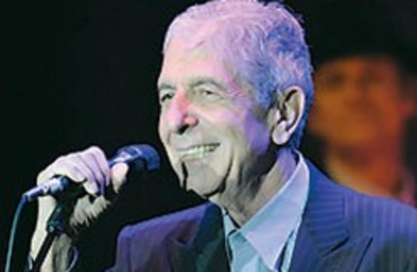 Leonard Cohen 1 88 248 (photo credit: )