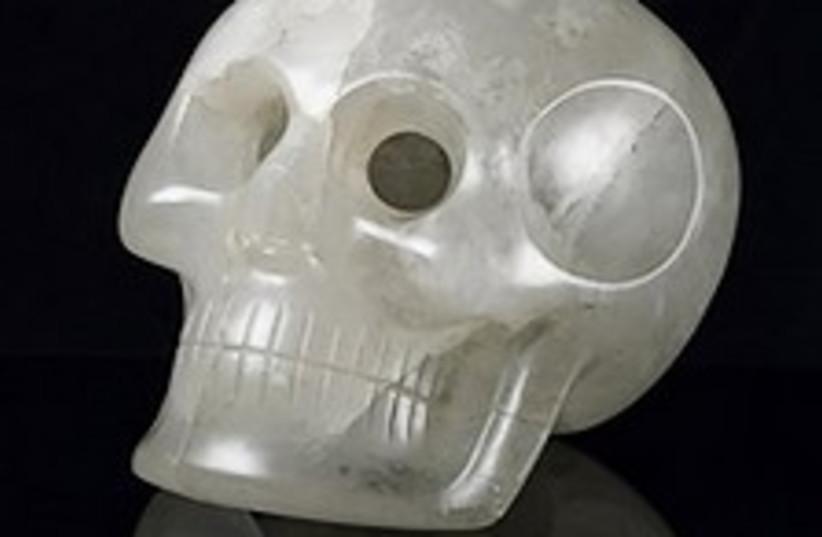 Crystal Skull 224.88 ap (photo credit: AP)