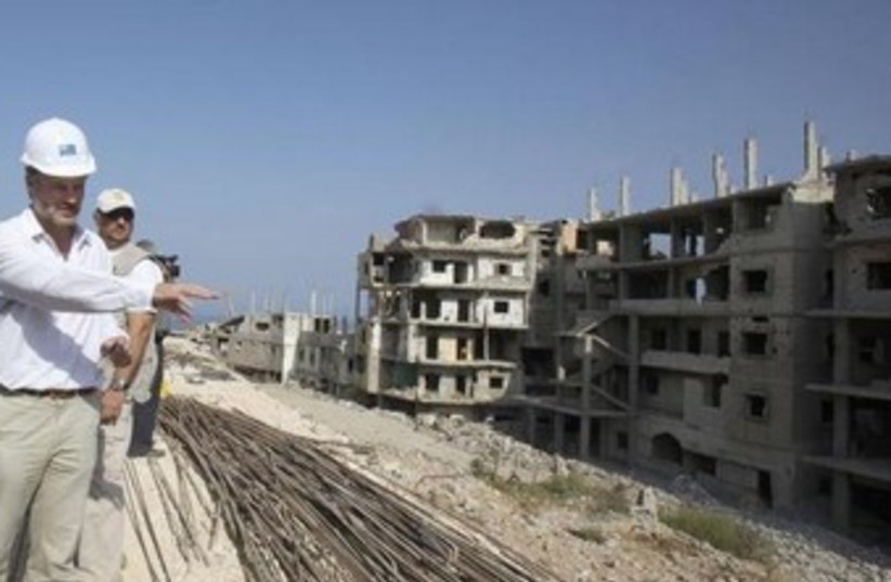 UNRWA project manager in Gaza 370 (photo credit: Reuters)