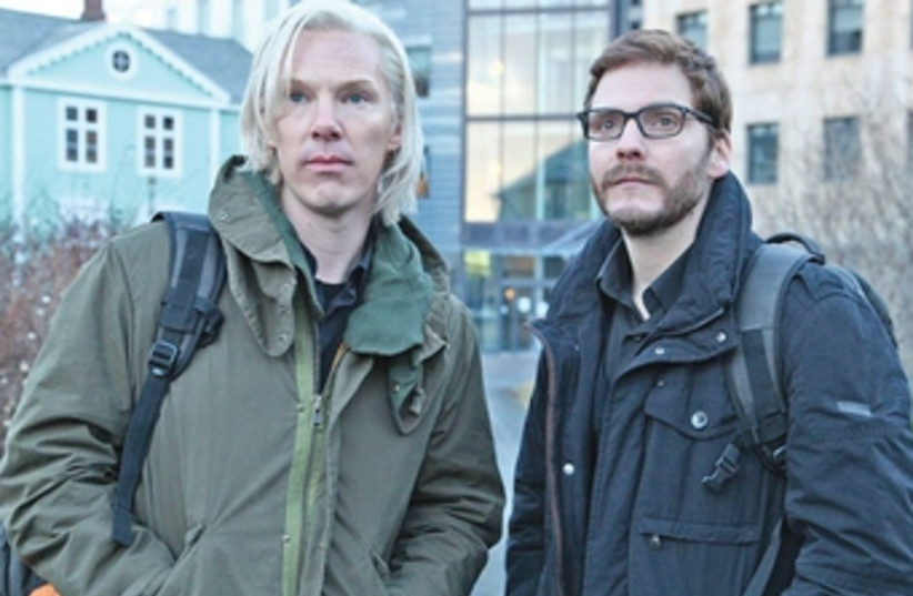 The Fifth Estate, starring Benedict Cumberbatch and Daniel B (photo credit: Courtesy)