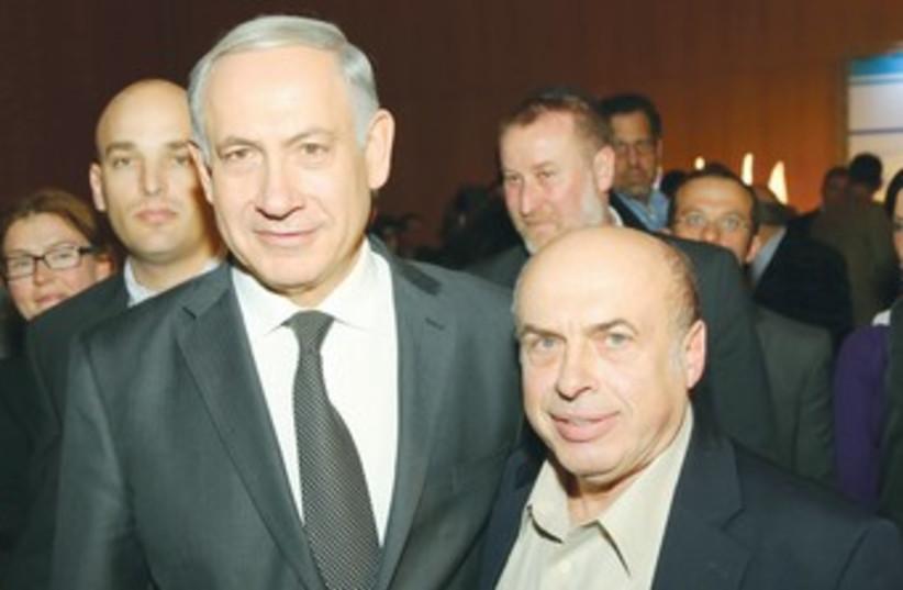 netanyahu and sharansky 370 (photo credit: Sasson Tiram)