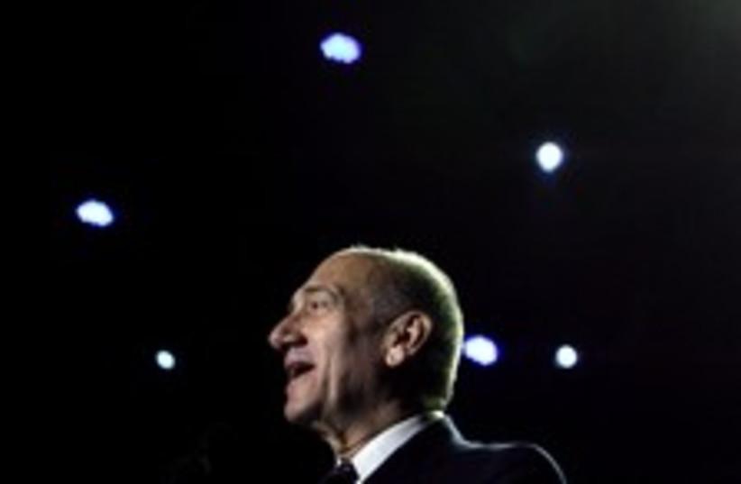 Olmert phone home 224 88 (photo credit: AP)