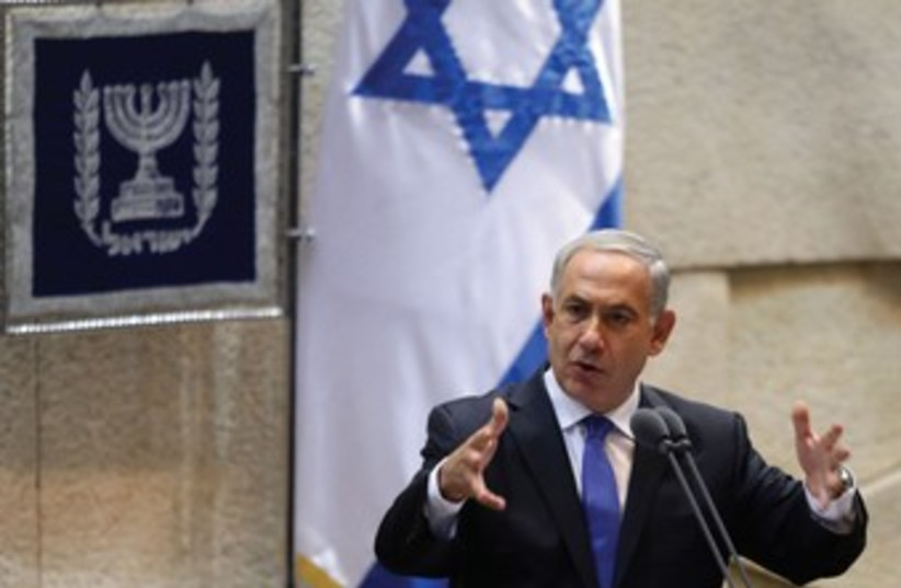 B.Netanyahu 370 (photo credit: Marc Israel Sellem/The Jerusalem Post)