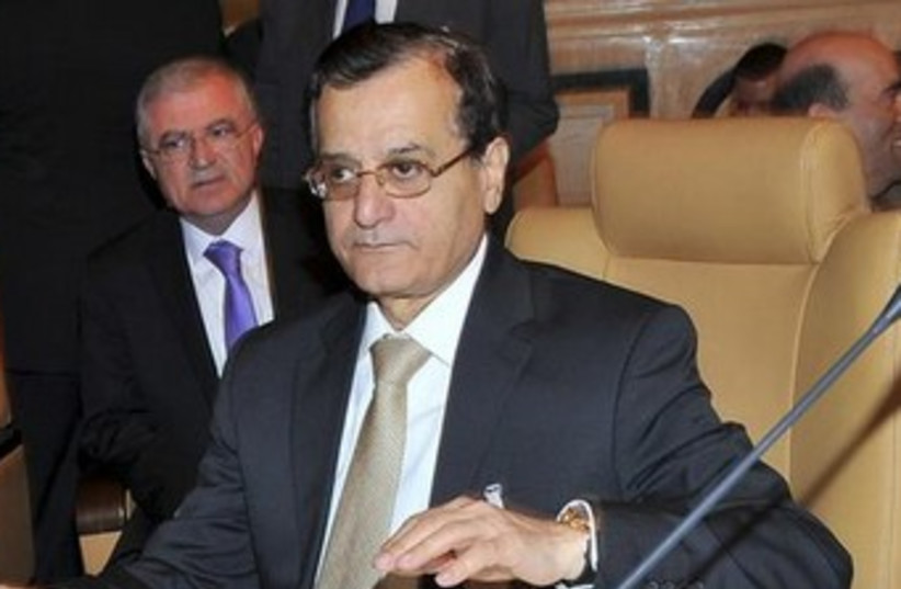 Lebanese Foreign Minister Adnan Mansour 370 (photo credit: REUTERS)
