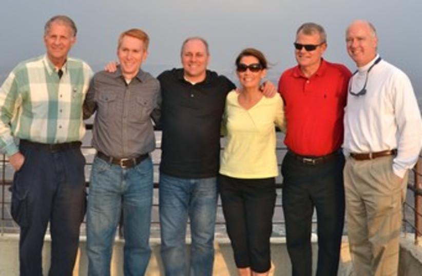 US Congress delegation 370 (photo credit: Courtesy)