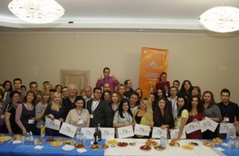 PARTICIPANTS OF Limmud FSU's Odessa conference (photo credit: Courtesy of Limmud FSU)