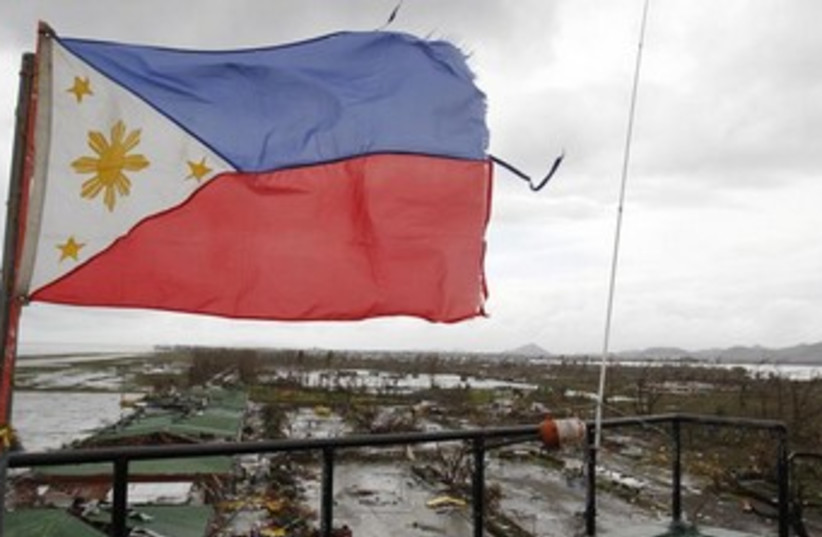A view of Tacloban City in the Philippines 370 (photo credit: Reuters)