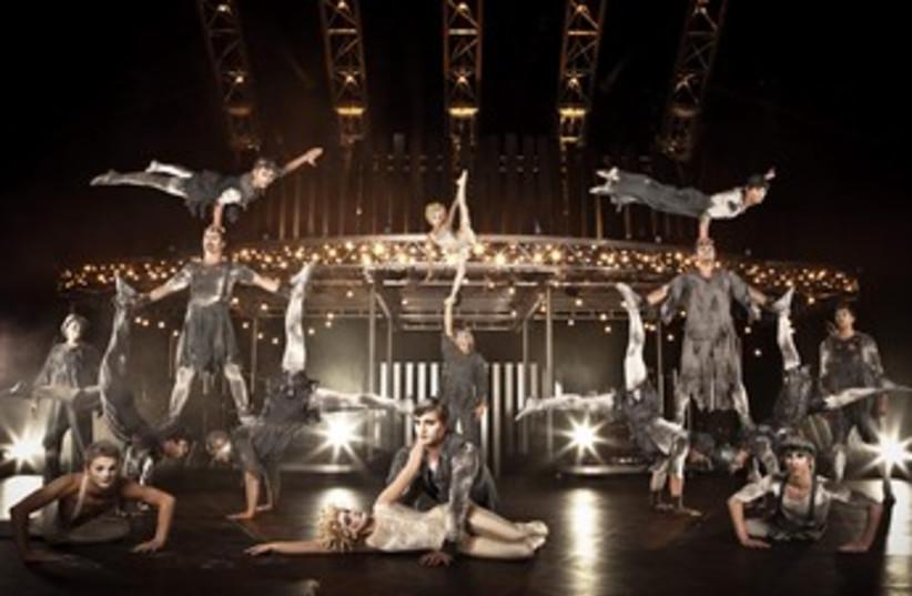 Cirque du Soleil troupe performing Quidam (photo credit: Courtesy)