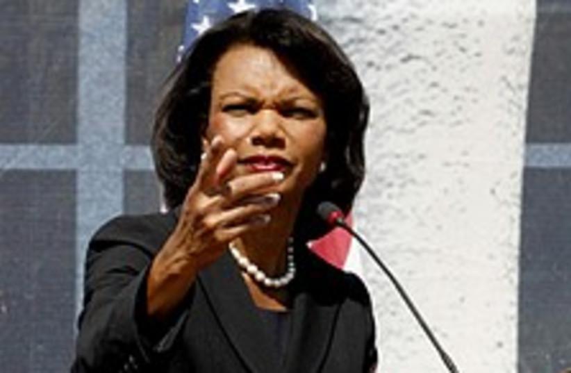 Condoleezza Rice 224.88 (photo credit: AP)