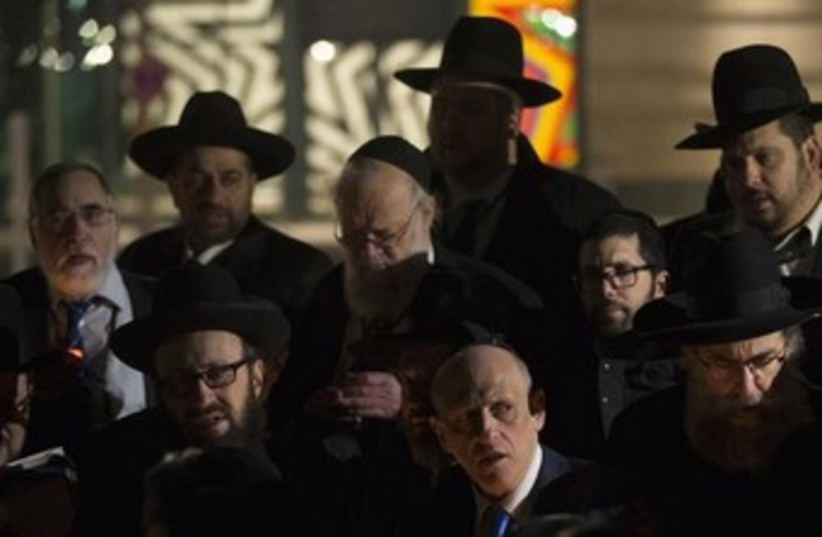Conference of Europea rabbis 370 (photo credit:  REUTERS/Thomas Peter )