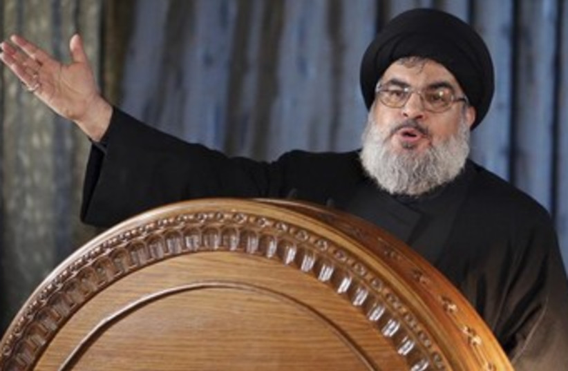 Hezbollah chief Hassan Nasrallah 370 (photo credit: REUTERS/Hasan Shaaban)