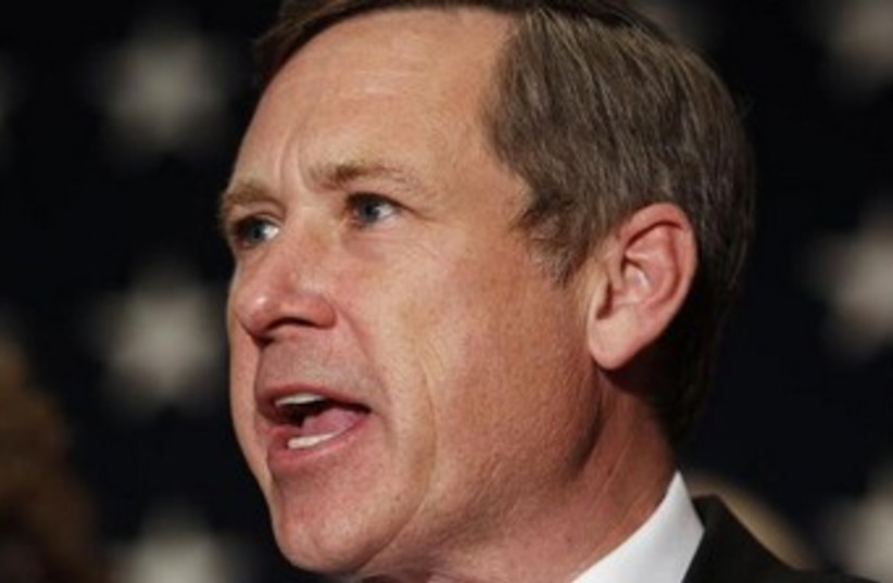 US Senator Mark Kirk 370 (photo credit: REUTERS)