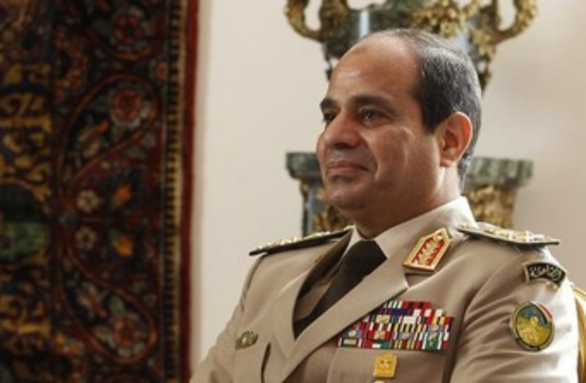 General Abdel Fattah al-Sisi 370 (photo credit: REUTERS/Amr Abdallah Dalsh)