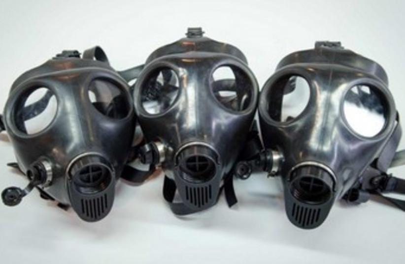 Supergum Industries' gas masks 370 (photo credit: Courtesy)