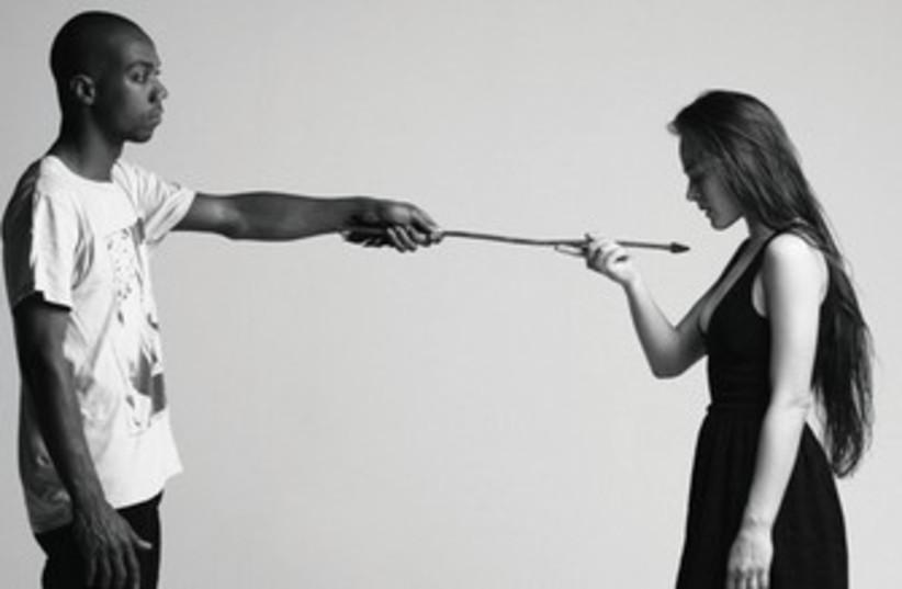 'ARROWED' by choreographer Bobbi Jene Smith 370 (photo credit: Dean Avisar)