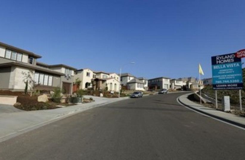 Houses for sale in California, real estate 370 (photo credit: REUTERS)