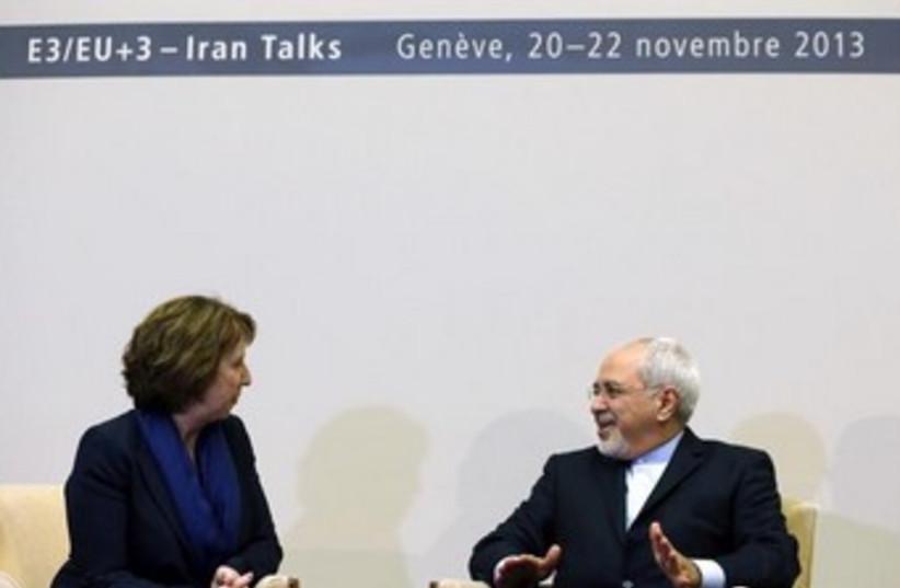 Iran talks in Geneva November 20 2 370 (photo credit: REUTERS/Denis Balibouse)