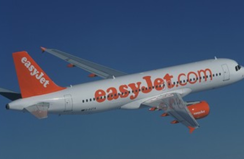 easyJet aircraft 370 (photo credit: Courtesy)