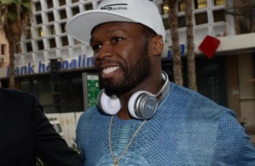Rapper 50 Cent in Tel Aviv 370 (photo credit: Israel Hadri, Courtesy)
