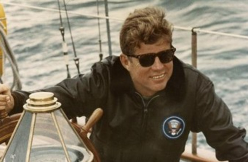 Former United States President John F. Kennedy (photo credit: Reuters)
