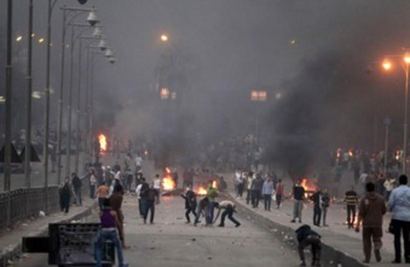 Egypt clashes November 22, 2013 370 (photo credit: REUTERS)