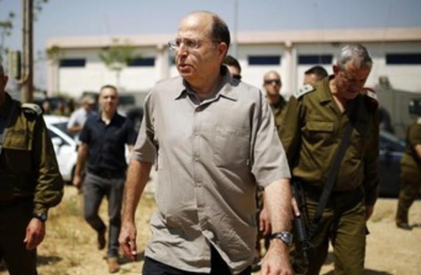 Defense Minister Moshe Ya'alon 370 (photo credit: REUTERS)