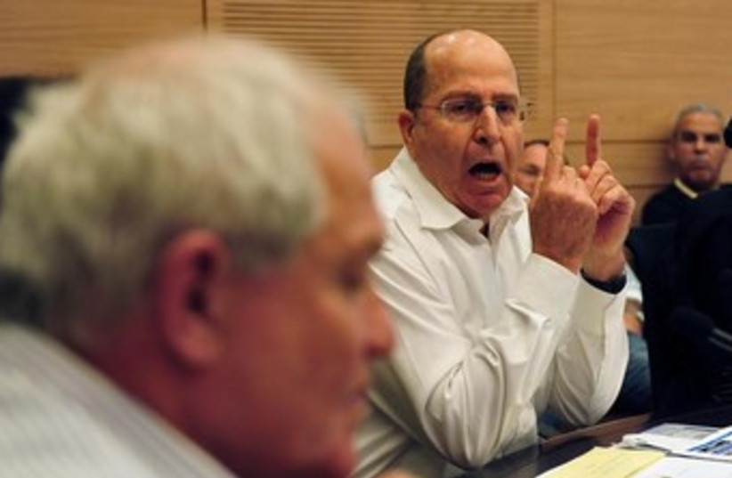 Defense Minister Moshe Ya'alon 370 (photo credit: Ariel Hermoni, Defense Ministry)