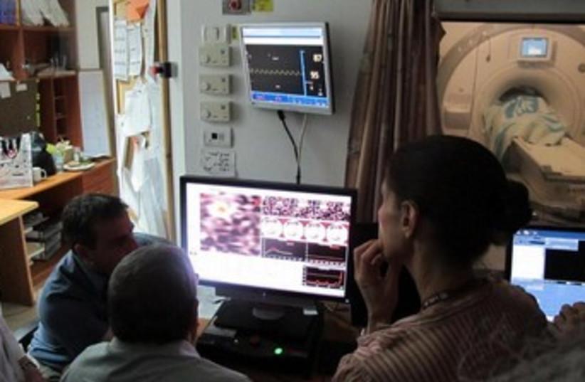 Rambam ablation for essential tremor 370 (photo credit: Courtesy Rambam Medical Center)