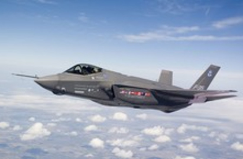 f-35 really cool 224 88 (photo credit: Courtesy)