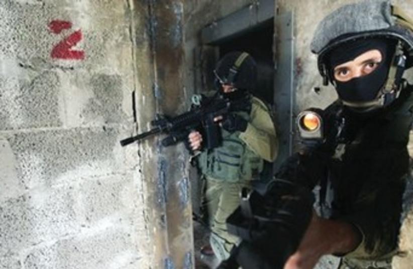Counterterror soldier 370 (photo credit: Marc Israel Sellem/The Jerusalem Post)
