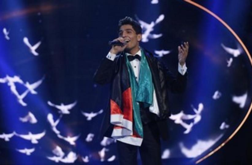 Palestinian singer Mohammed Assaf (photo credit: Reuters)