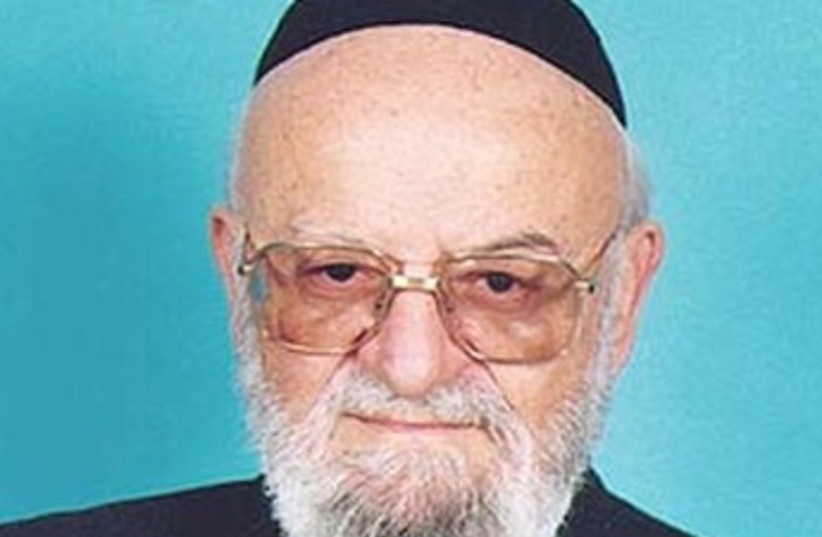 Former MK Avraham Verdiger 370 (photo credit: Courtesy of Knesset)