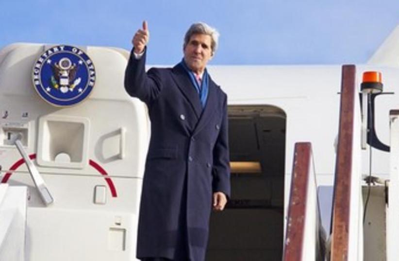 U.S. Secretary of State John Kerry  (photo credit: Reuters)