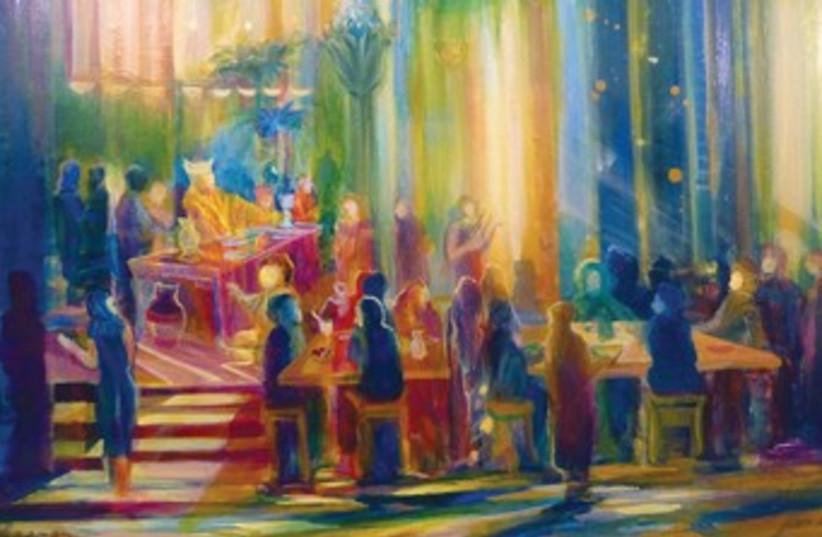 Parshat Miketz 370 (photo credit: Painting by Yoram Raanan; www.yoramraanan.com)