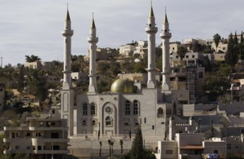 Mosque in  Abu Ghosh 370 (photo credit: REUTERS/Ronen Zvulun)