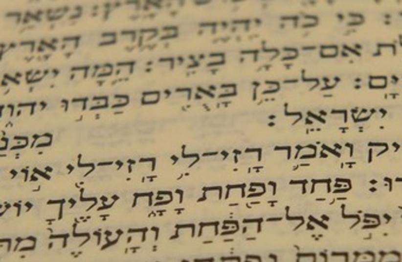 Isaiah 24:17  370 (photo credit: Amit Bar Yosef)